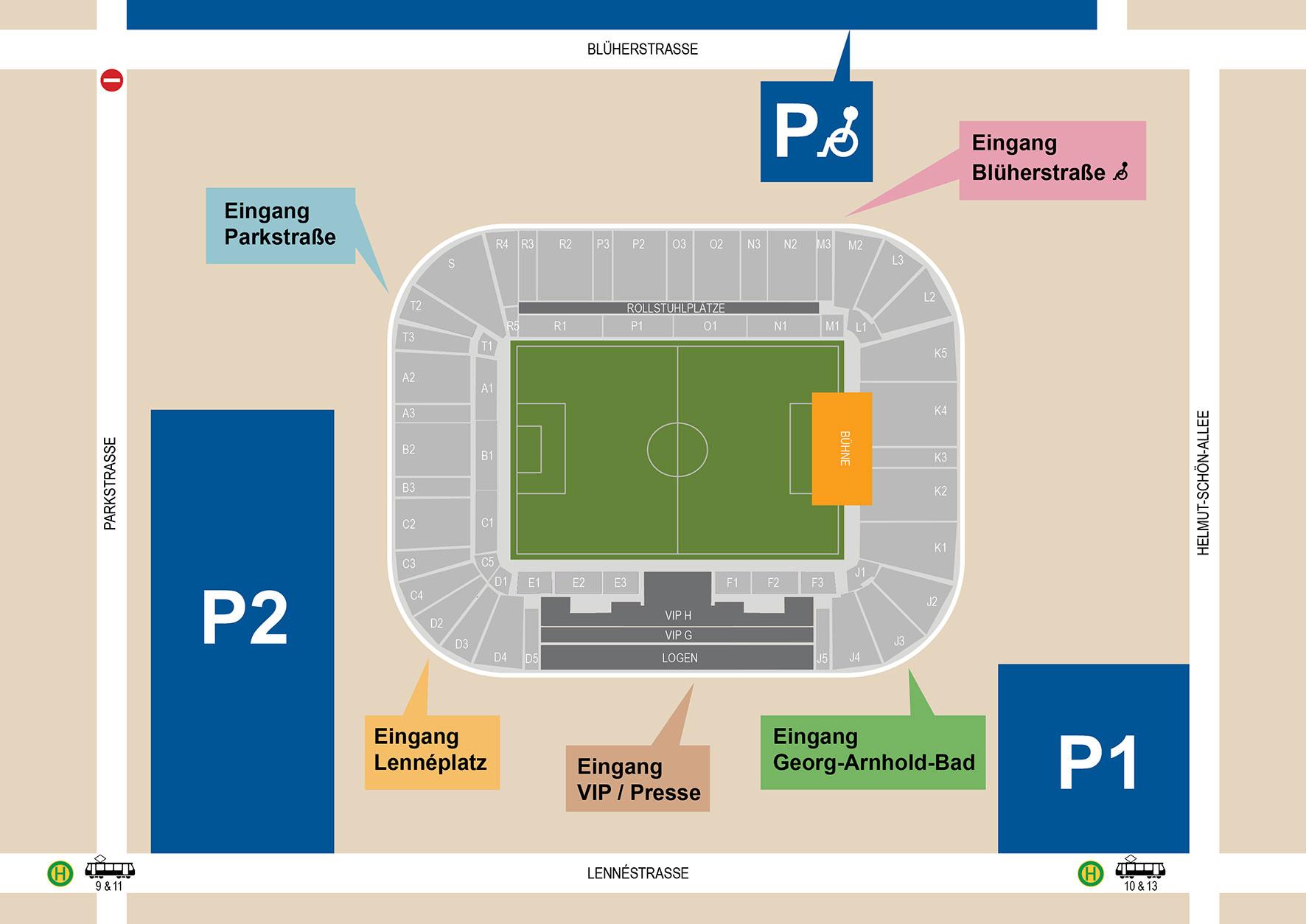 Ddv Stadion Plan
